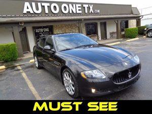 2012 Maserati Quattroporte S Carfax Report Audio  Auxiliary Audio Input Audio  Cd Player Audi