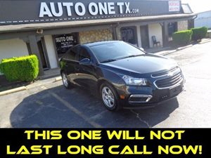 2015 Chevrolet Cruze LT Carfax Report Audio  Cd Player Audio  Mp3 Player Audio  Satellite Ra