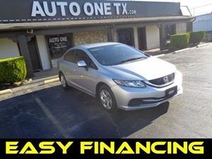 2013 Honda Civic Sdn LX Carfax Report Audio  Auxiliary Audio Input Audio  Cd Player Audio  M