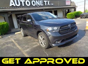2013 Dodge Durango SXT Carfax Report Audio Jack Input For Mobile Devices Audio AmFm Stereo Au