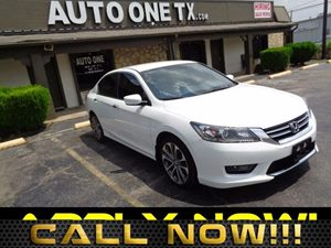 2014 Honda Accord Sedan Sport Carfax Report 4-Way Passenger Seat -Inc Manual Recline And ForeAf