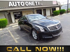 2014 Cadillac ATS Standard AWD Carfax Report Sunroof Power Audio Auxiliary Audio Input Audio