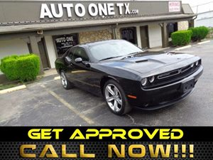 2015 Dodge Challenger SXT Carfax Report Super Track Pak 4-Way Passenger Seat -Inc Manual Reclin