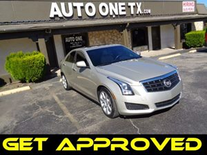2013 Cadillac ATS  Carfax Report Armrest Rear Center With Cupholders Audio System Feature Bose