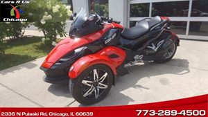 View 2009 Can-Am Spyder Trike