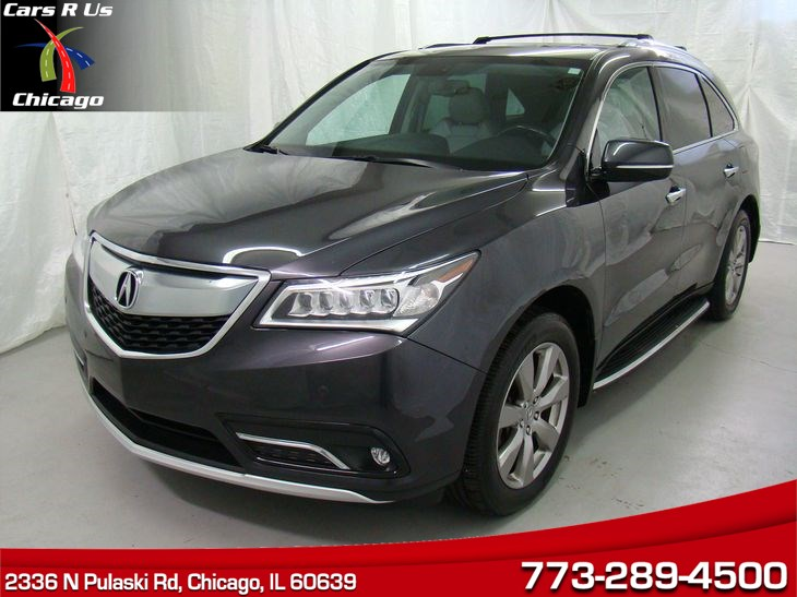 Sold Acura MDX AdvanceEntertainment Pkg In Chicago - Acura mdx invoice price