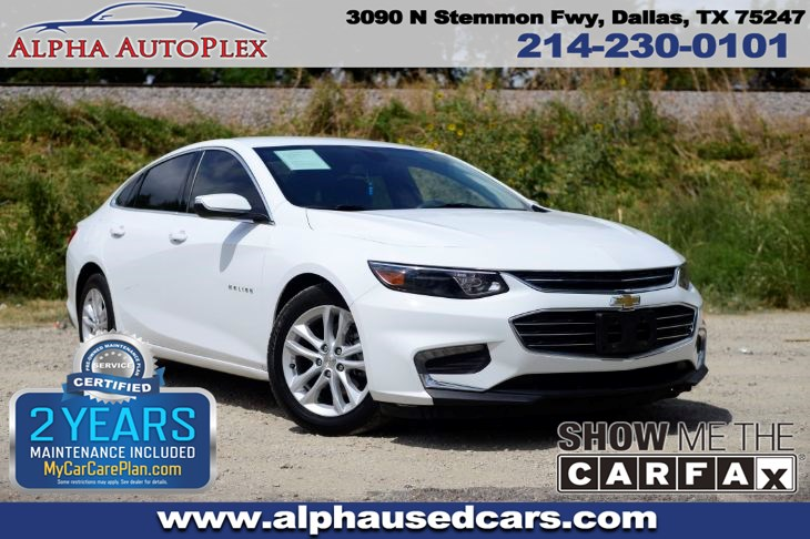 Used 2017 Chevrolet Malibu Hybrid In Dallas