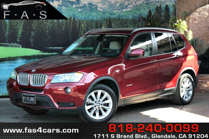 Used 2013 BMW X3 XDrive28i In Glendale
