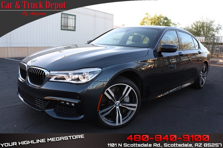 Used 2016 BMW 750i M Sport AWD XDrive In Scottsdale