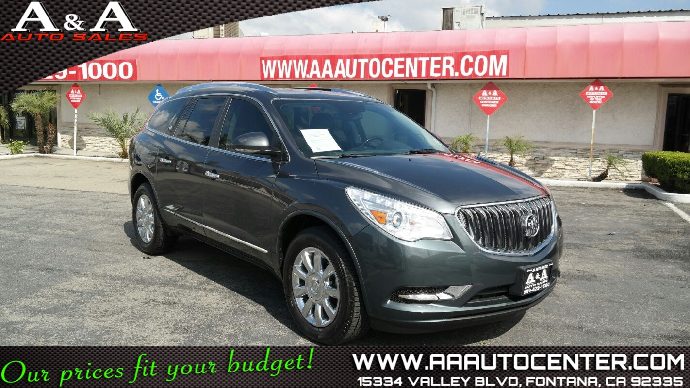 Used Buick Enclave Premium In Fontana - Buick enclave invoice price
