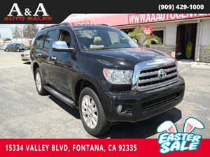View 2011 Toyota Sequoia
