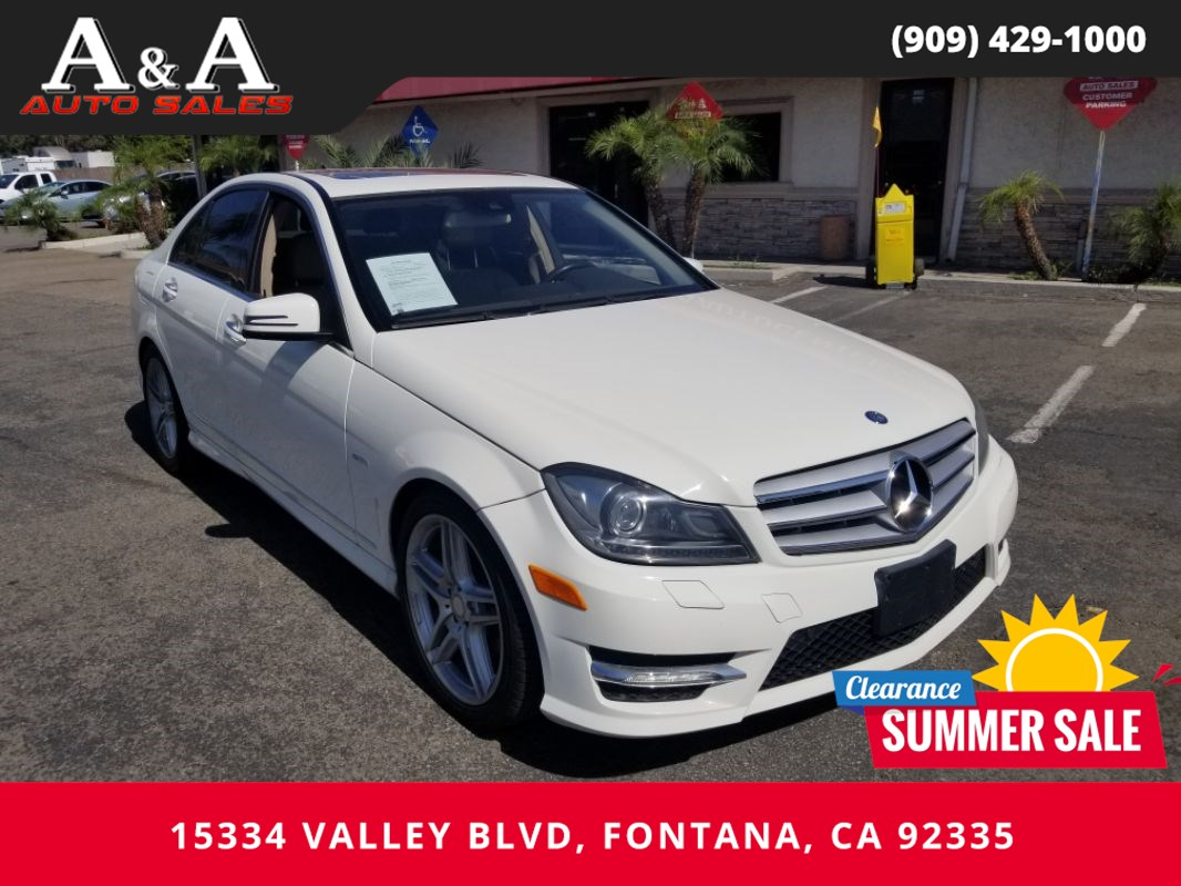 2012 Mercedes-Benz C 250 C 250 Luxury