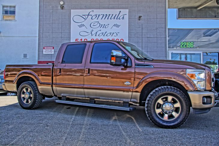 2011 Ford Super Duty F-250 SRW king ranch 67L 32-Valve Power Stroke V8 Diesel Engine Convenience