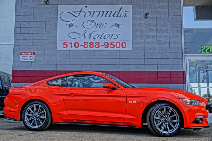 2015 Ford Mustang GT Engine 50L Ti-Vct V8 50-50 Folding Bench Front Facing Fold Forward Seatbac