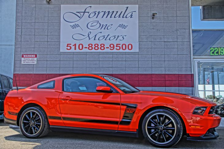 2012 Ford Mustang Boss 302 50L 4V Hi-Po Ti-Vct V8 Engine Audio Auxiliary Audio Input Audio Cd