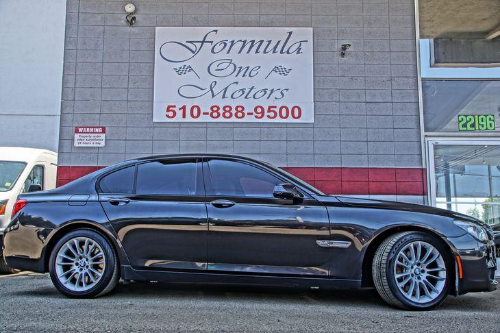 2010 BMW 7 Series 750i xDrive M Sport Pkg Premium Sound Pkg Dark Graphite Metallic All adverti