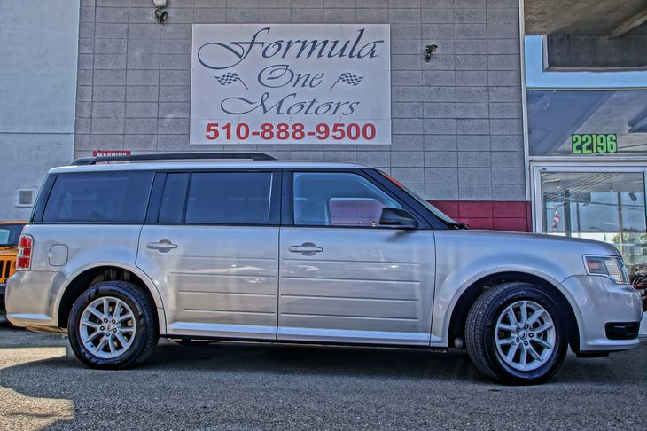 2013 Ford Flex SE 35L Ti-Vct V6 Engine Audio Auxiliary Audio Input Audio Cd Player Audio Mp