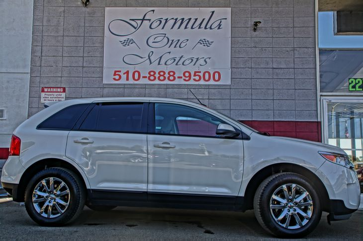 2013 Ford Edge SEL 35L Ti-Vct V6 Engine Air Conditioning Multi-Zone AC Au