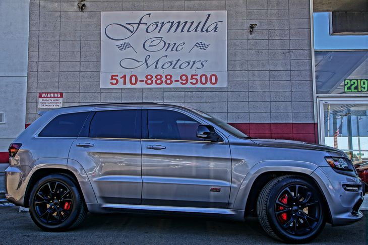 2014 Jeep Grand Cherokee SRT8 Engine 64L V8 Srt Hemi Mds 60-40 Folding Split-Bench Front Facing