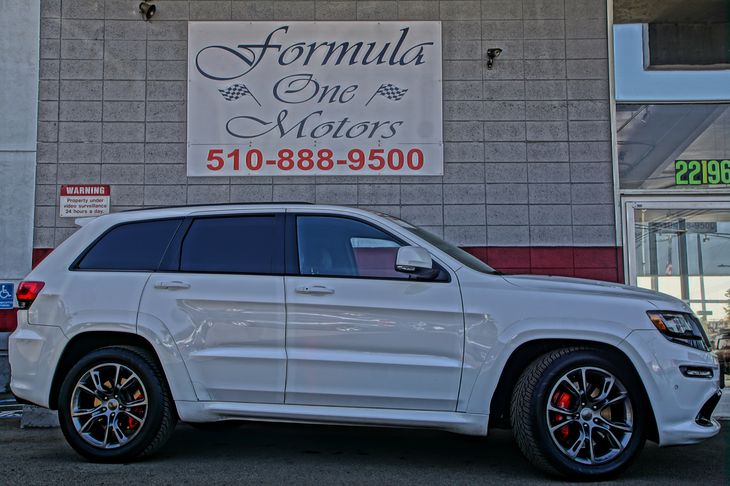 2015 Jeep Grand Cherokee SRT Engine 64L V8 Srt Hemi Mds 60-40 Folding Split-Bench Front Facing