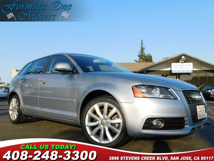 2010 Audi A3 20T Premium Rear Side Airbags Air Conditioning Multi-Zone AC Audio Auxiliary Au