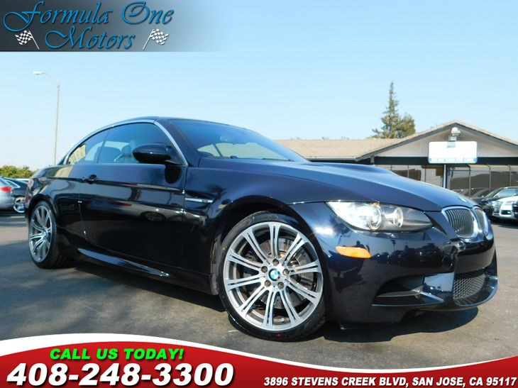 2008 BMW 3 Series M3 19 Alloy Wheels Cold Weather Pkg Dvd-Based Navigation System Heated Fron