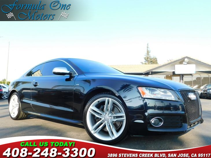 2012 Audi S5 Prestige  Brilliant Black All advertised prices exclude government fees and taxes