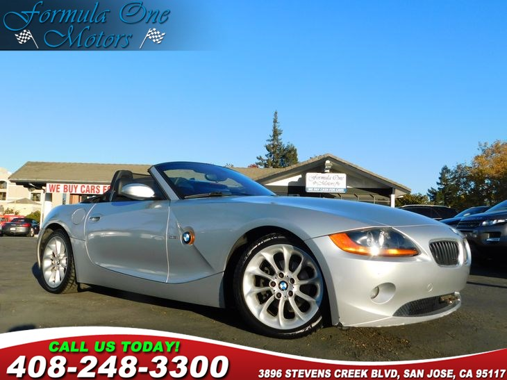 2003 BMW Z4 25i Audio  Cd Player Convenience  Intermittent Wipers Convenience  Leather Steer
