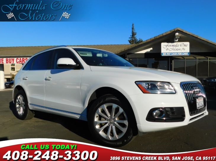 2016 Audi Q5 Premium Plus 3-Step Heated Front Seats Technology Package Technology Package Credit