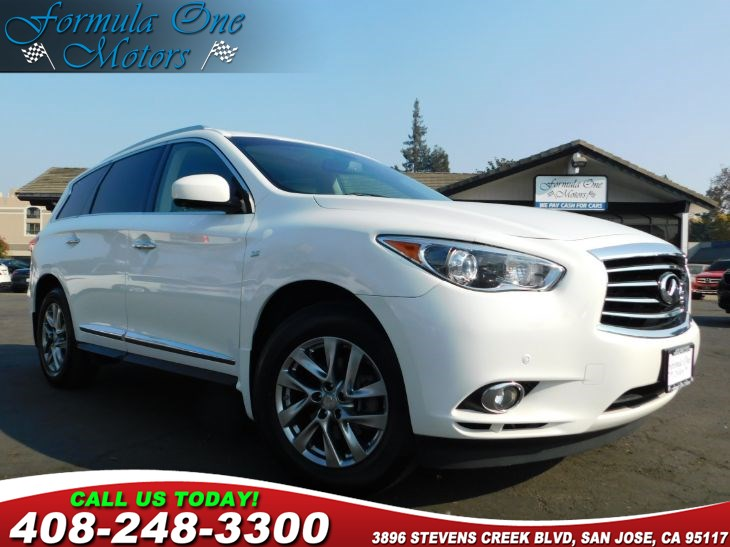 2014 INFINITI QX60  B10 Roof Rails F02 Technology Package H01 Theater Package H10 Dual