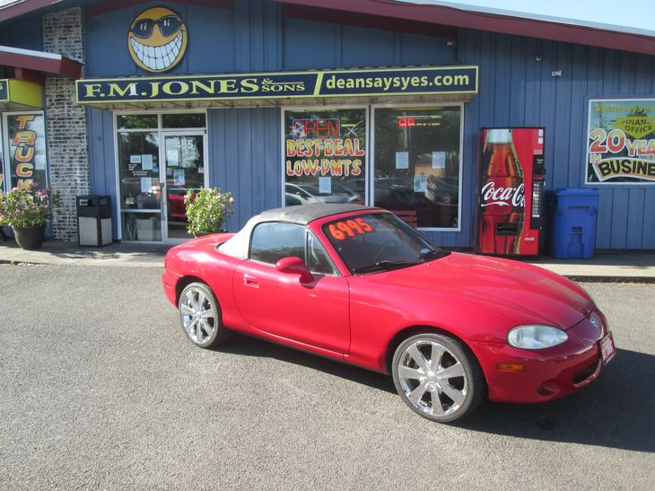 2004 Mazda MX-5 Miata Cloth