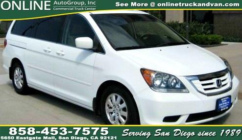Sold 2010 Honda Odyssey EX-L in San go