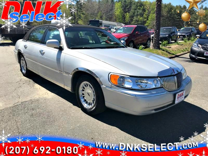 Used 1999 Lincoln Town Car Cartier In Farmingdale