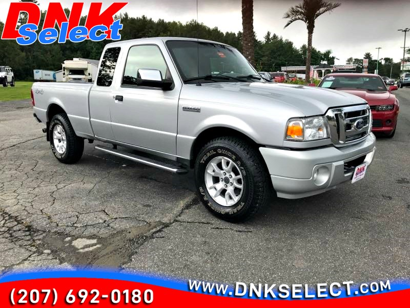 2011 Ford Ranger Xlt Supercab 4 Door 4wd Dnk Select