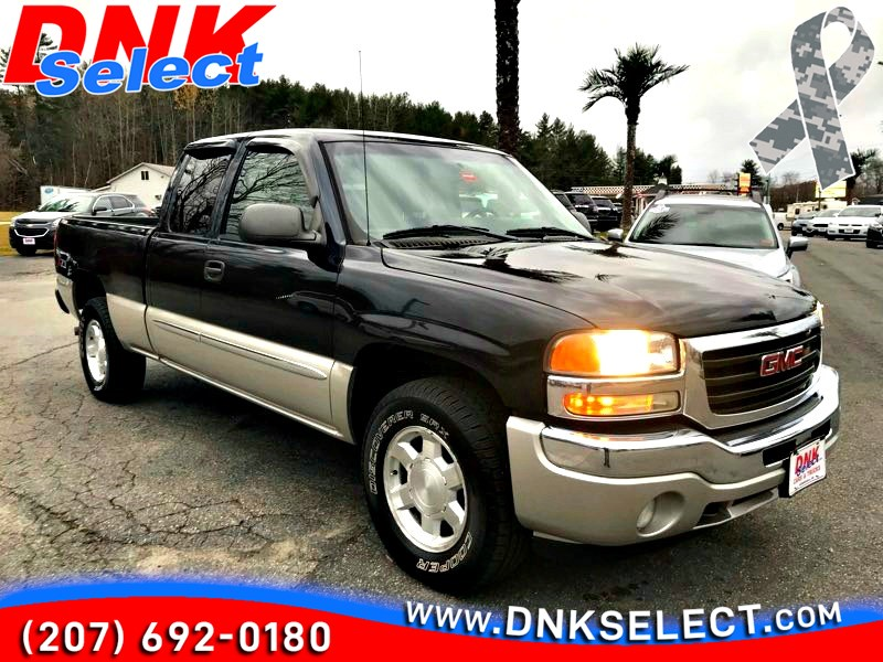 2006 Gmc Sierra 1500 Sle1 Ext Cab 4wd Dnk Select