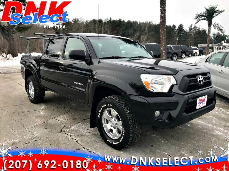Used 2013 Toyota Tacoma Double Cab V6 Auto 4wd In Farmingdale