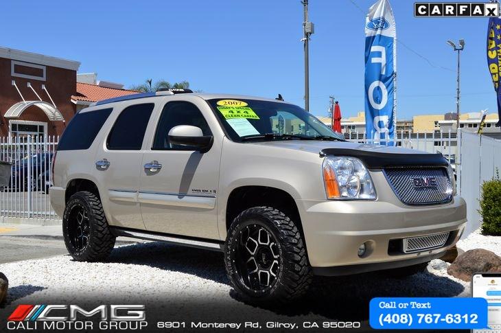 Lifted Yukon Denali >> 2007 Gmc Yukon Denali Awd Off Road Lifted Cali Motor Group