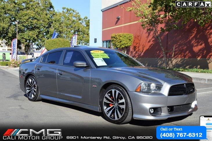 Sold 2012 Dodge Charger Srt8 Srt 8 In Gilroy