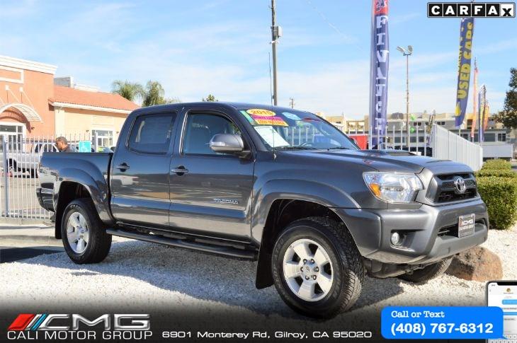 Sold 2015 Toyota Tacoma Sr5 Prerunner Trd Sport In Gilroy