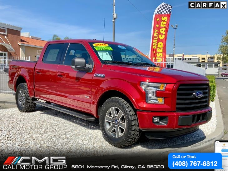 2015 Ford F-150 Super Crew Cab Sport *W/Navigation SYS
