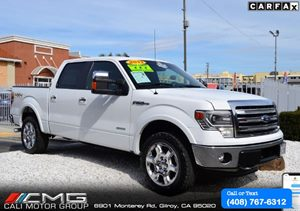 View 2013 Ford F150 SUPER CREW CAB