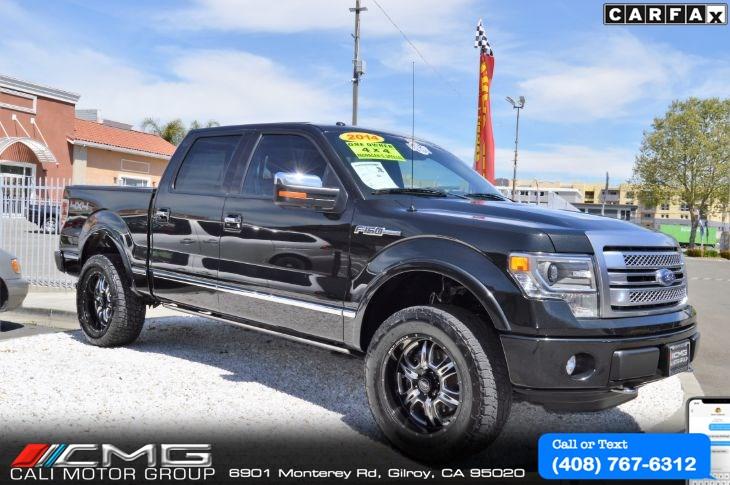 2014 Ford F 150 Platinum Cali Motor Group