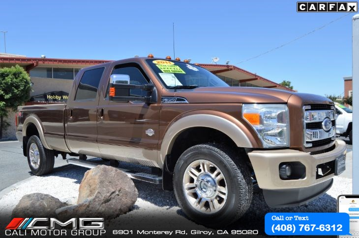 2011 Ford Super Duty F-350 King Ranch *Diesel *5th wheel *4X4