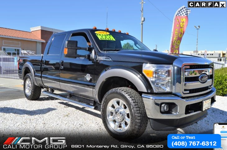 2013 Ford Super Duty F250 Lariat Plus PKG *DIESEL *4X4