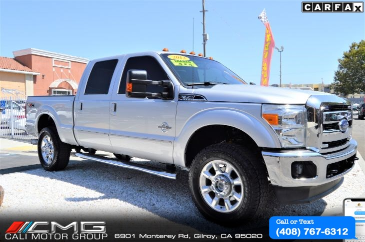 2013 Ford Super Duty F-350 Lariat *FX4 PKG *TECH PKG *DIESEL