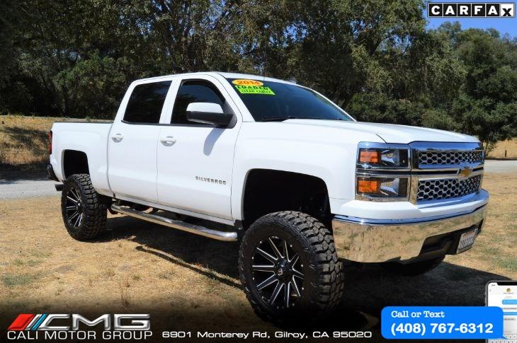 2014 Chevy Silverado Lifted >> 2014 Chevrolet Silverado 1500 Lt Lifted W Off Road Wheels Tires Cali Motor Group