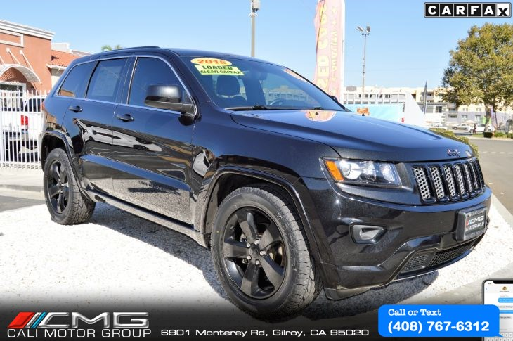2015 Jeep Grand Cherokee ALTITUDE III PKG *W/TECH PKG