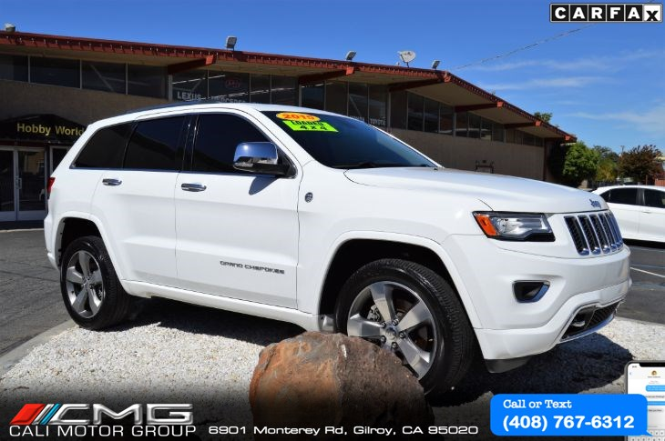 2015 Jeep Grand Cherokee Overland 4WD *FULLY LOADED