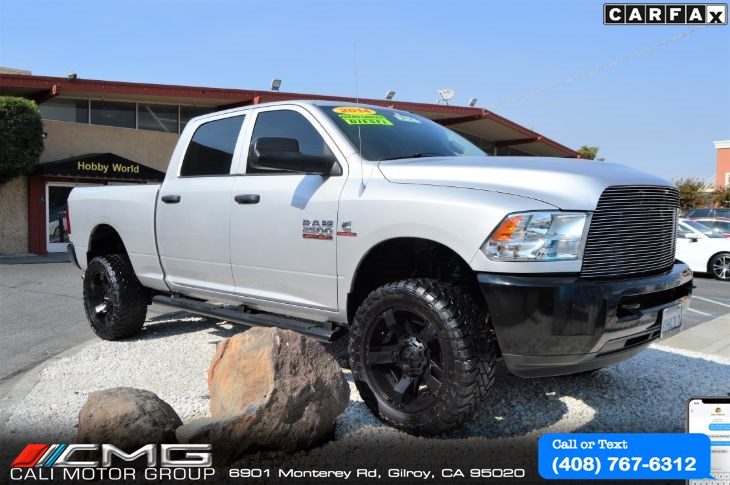 2014 Ram 2500 CREW CAB *OFF-ROAD KIT LIFTED *DIESEL *4X4