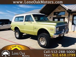 View 1972 Chevrolet Blazer 4WD